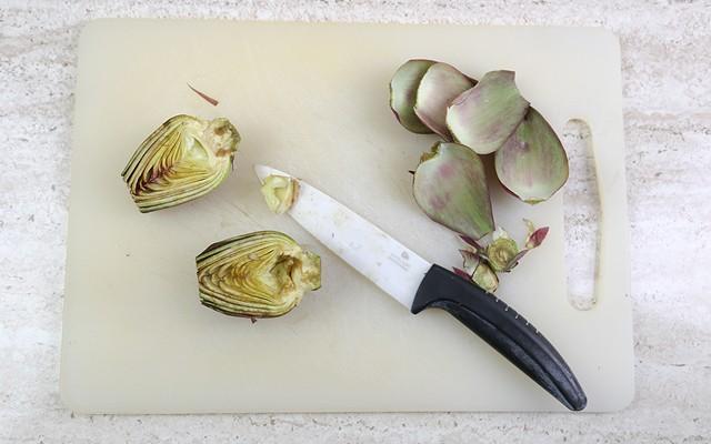 torta salata ai carciofi step (1)