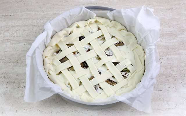 torta salata ai carciofi step (6)