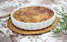La torta salata al cavolfiore e speck con la ricetta facile