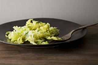 Verza in padella, ricetta light