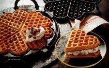 Come fare i waffles di San Valentino
