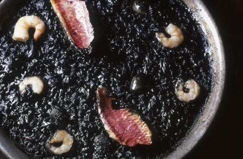 Risotto al nero di seppia
