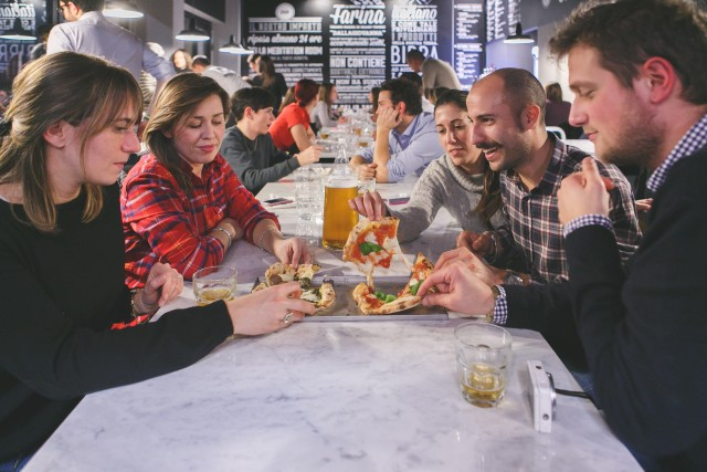 Briscola-pizza society