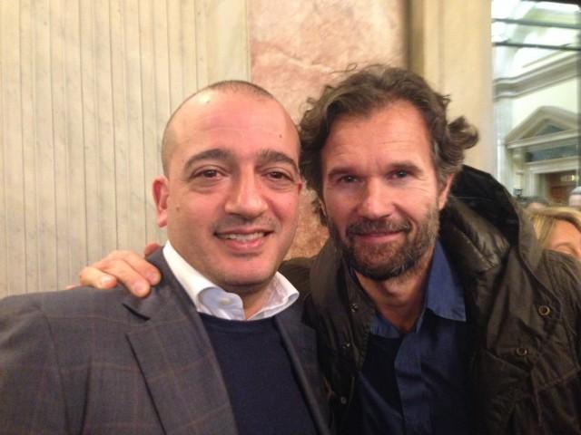 Pino Cuttaia e Carlo Cracco
