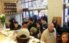 Gabriele Bonci inaugura il nuovo Pizzarium