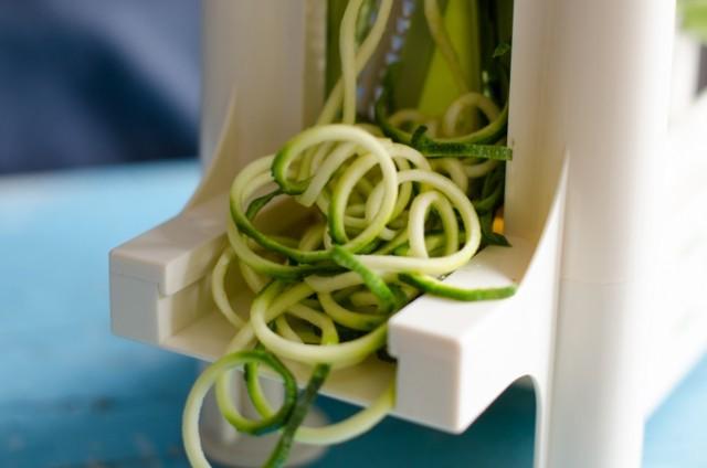 Spaghetti di zucchine-1
