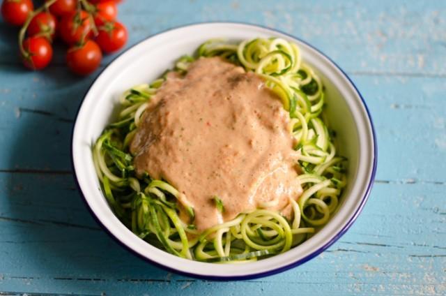 Spaghetti di zucchine-4