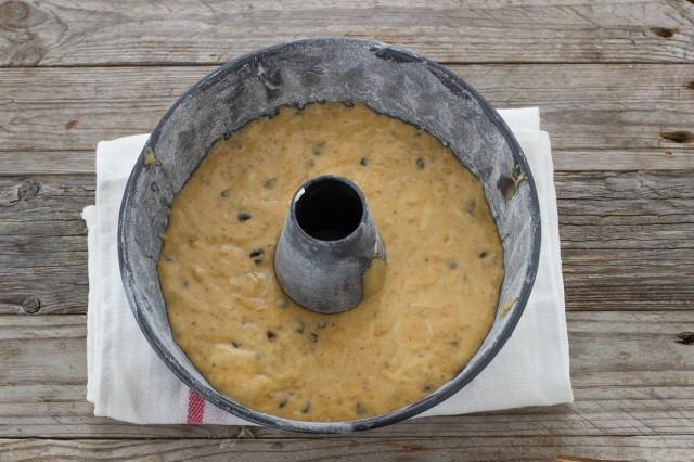 Step 3 ciambella zucca e cioccolato
