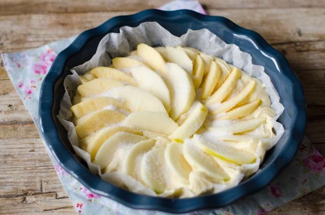 Torta di mele al microonde_-3