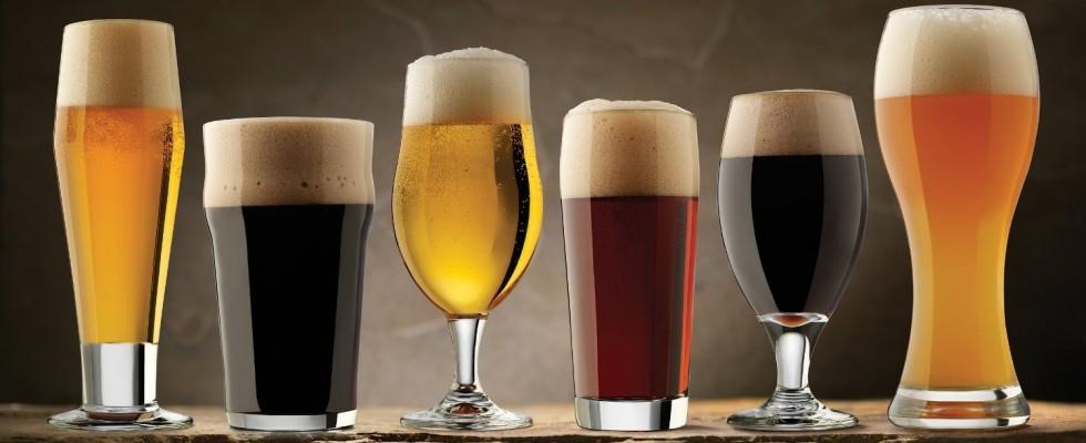 Scegliere il bicchiere giusto per la birra giusta