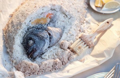 Dentice al sale: secondo di pesce