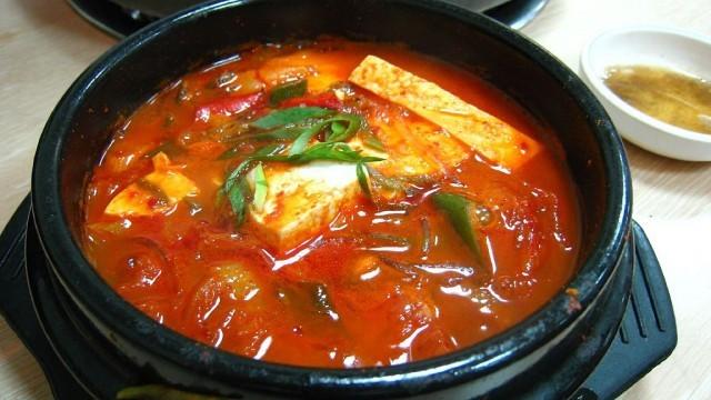 kimchi jiigae