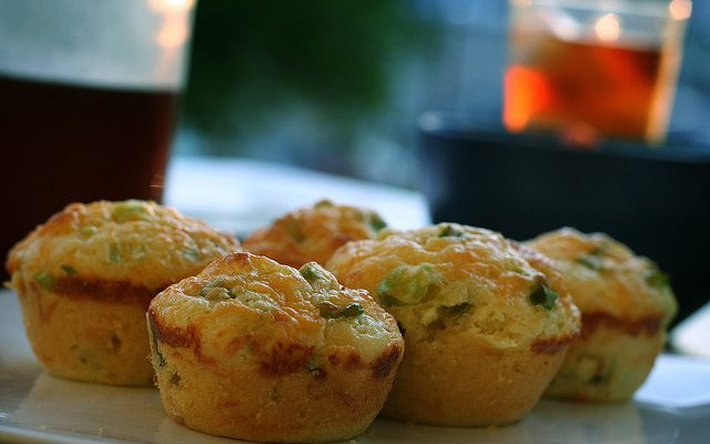 I muffin asparagi e ricotta con la ricetta veloce