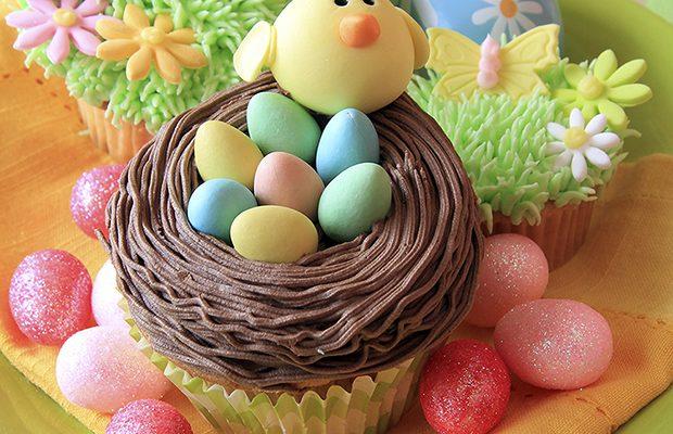 La ricetta per fare i muffin di Pasqua