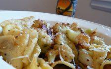 Pasta al prosciutto crudo gratinata: la ricetta facile e sfiziosa