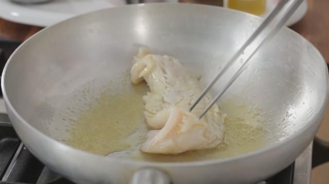 polpette di pesce merluzzo step 1