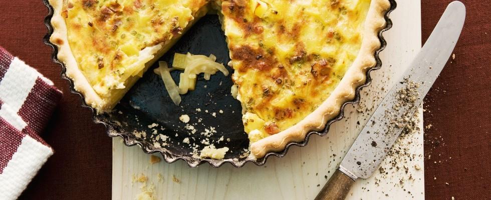 Quiche di patate e formaggio