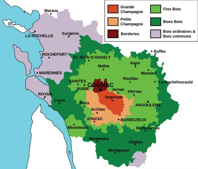 regioni cognac