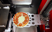 Pizza robot: pizza fresca in 3 minuti