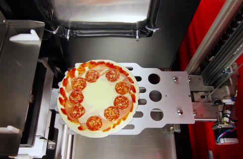 Pizza robot: pizza fresca in 3 minuti