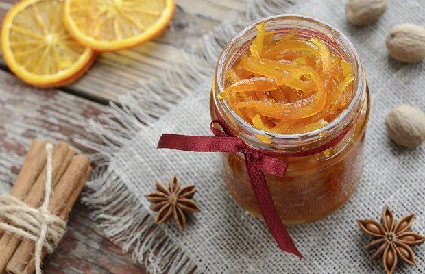La ricetta dell'arancia candita fatta in casa