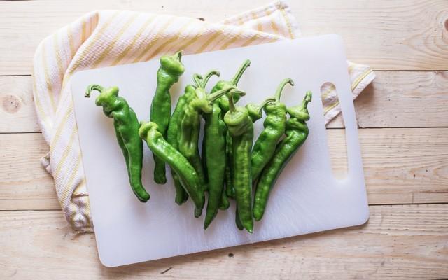 Peperoncini verdi fritti step-1
