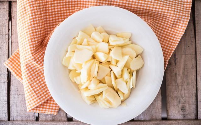 Torta alle mele senza burro step-1