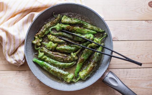 Peperoncini verdi fritti step-2