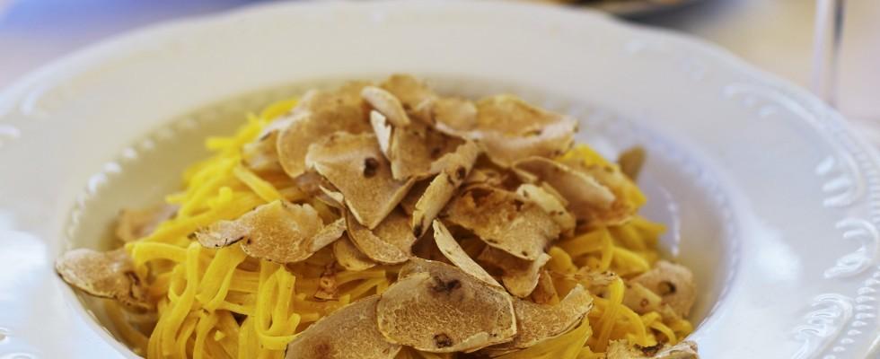 Tajarin al tartufo: ricetta piemontese