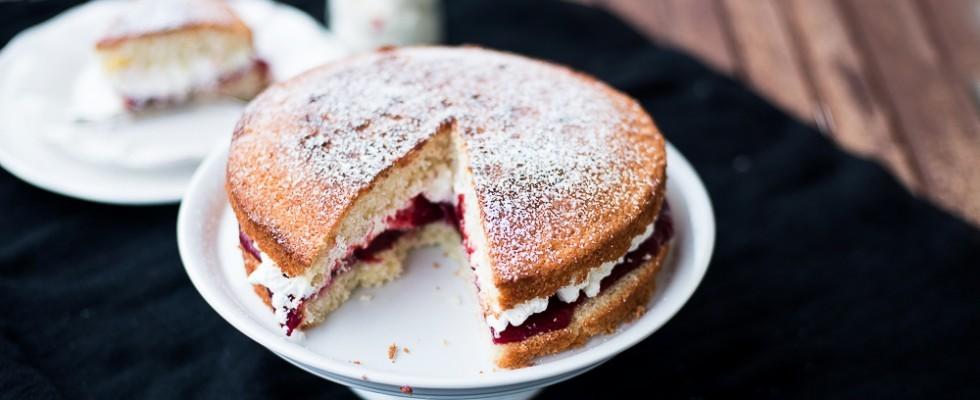 Ricetta della Victoria Sponge Cake: dall'Inghilterra