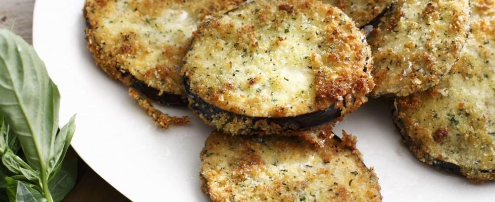 Melanzane fritte: contorno vegetariano