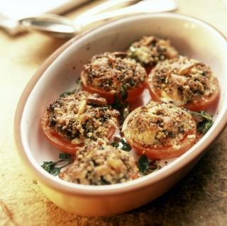Pomodori gratinati: contorno vegetariano