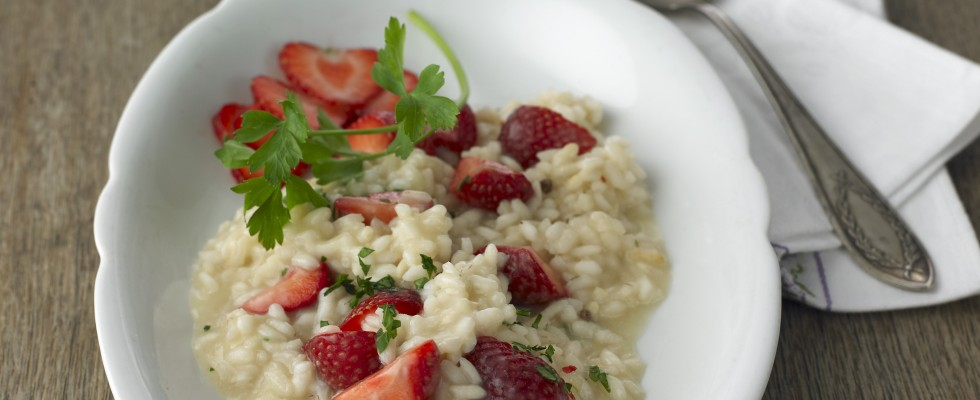 Risotto alle fragole: revival