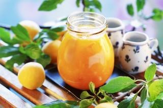 Marmellata di prugne gialle