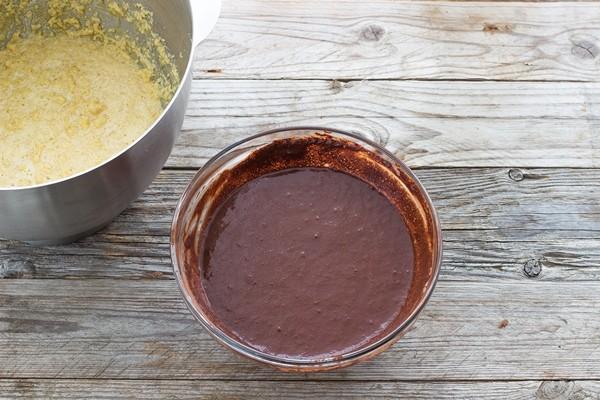 Step 1 guinness cake