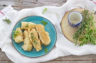 Frittelle di baccalà croccanti