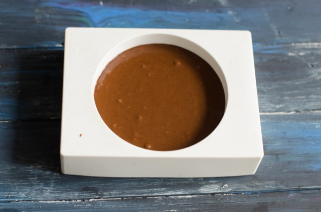Torta al cioccolato al microonde 3