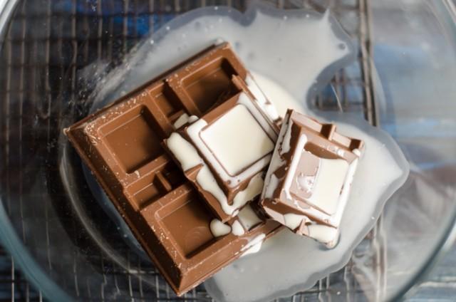 Torta farcita al cioccolato 5