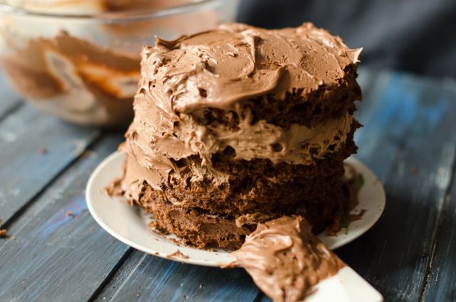 Torta al cioccolato al microonde8