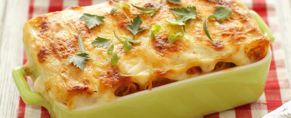 Cannelloni napoletani con mortadella e mozzarella