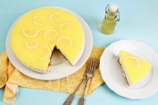 Cheesecake al limone con yogurt