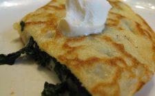 Le crepes con spinaci e ricotta al forno con la ricetta facile