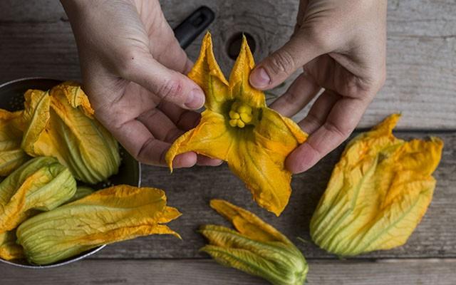fiori di zucca al forno step(2)