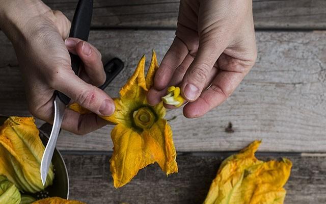 fiori di zucca al forno step(4)