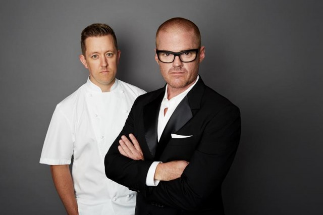 heston Blumenthal and Ashley Palmer Watts