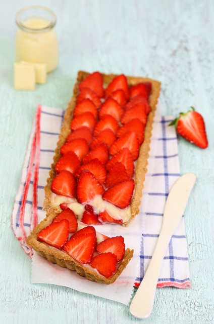 Crostata di fragole 2