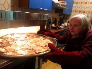 Nonna Leo alla ribalta: apre il suo home restaurant