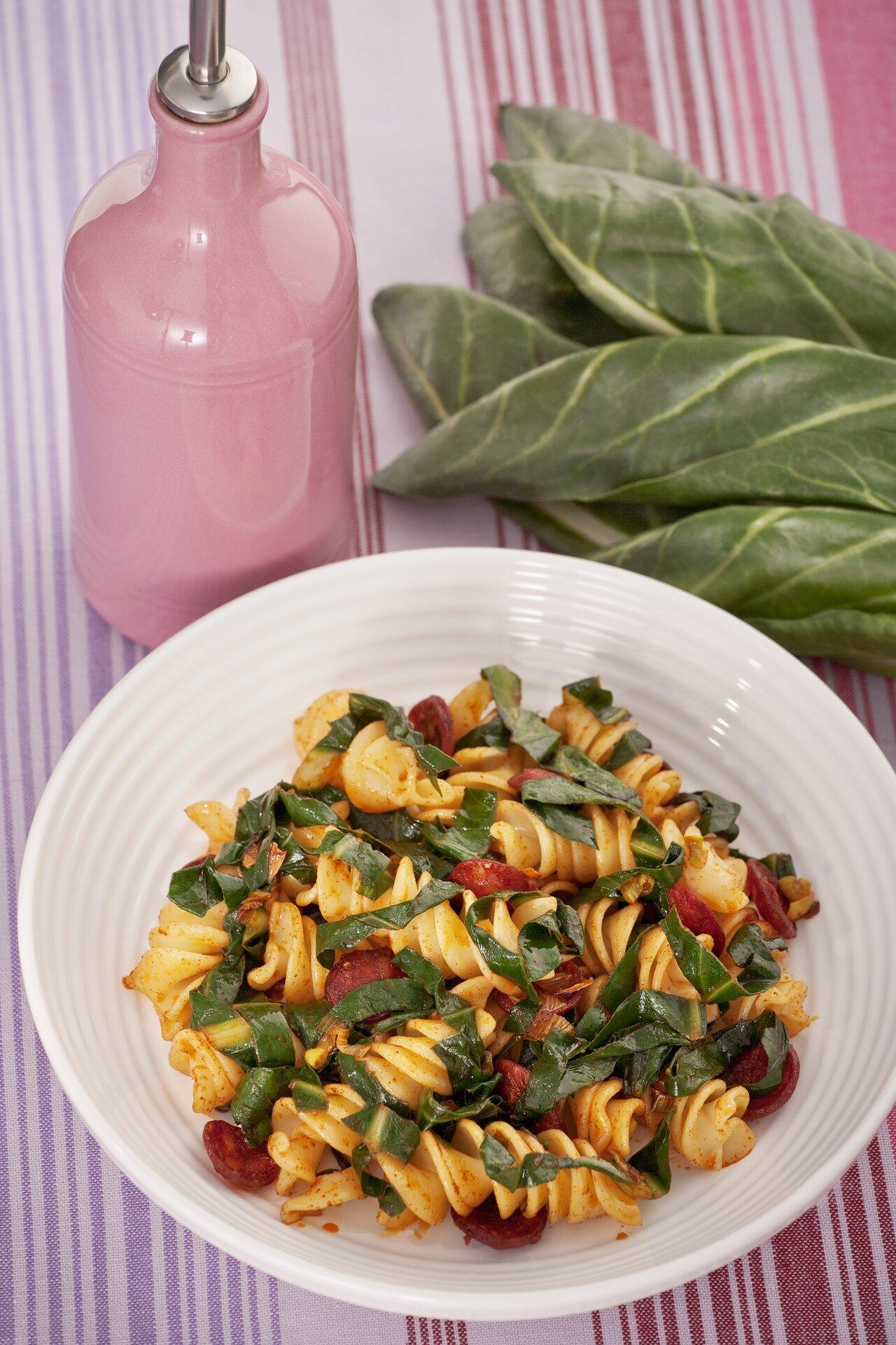 Ricetta pasta con bietole agrodolce for Ricette con la pasta