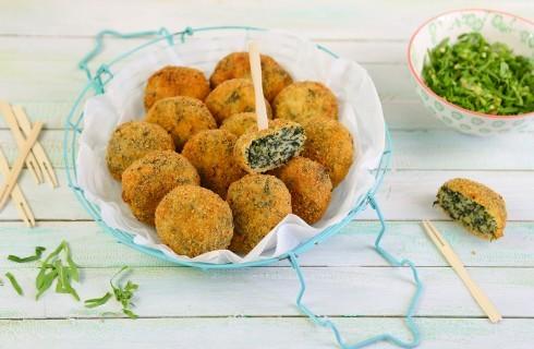 Polpette di cicoria e patate vegetariane