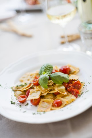 Ravioli capresi: vegetariani